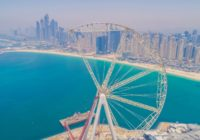 WORLD LARGEST OBSERVATION WHEEL IN DUBAI NEARS COMPLETION