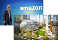AMAZON OPENS BID FOR SECOND HEADQUARTERS