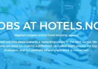 DEVELOPER INTERN JOB AT HOTELS.NG