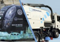 AUTONOMOUS ELECTRIC STREET SWEEPER