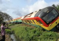 SEVERAL PERSONS INJURED FROM TRAIN ACCIDENT