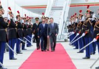 Egypt's President visits to Paris ends today