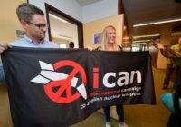 NOBLE PRIZE FOR ANTI-NUCLEAR CAMPAIGN ORGANISATION,ICAN.