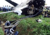ANGOLA PLANE CRASH- SEVEN PEOPLE DEAD