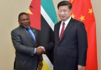 CHINA ANNOUNCES PART CANCELLATION OF MOZAMBIQUE'S DEBT