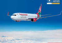 Kenya Airlines ranked number one in Africa