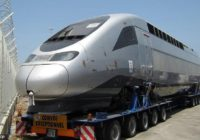 MOROCCAN ENGINEERS READY TO TEST FASTEST TRAIN IN AFRICA