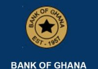100 BASIS POINT CUT FOR BANK OF GHANA POLICY RATE