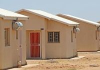 NAMIBIA UNOCCUPIED MASS HOUSING SCHEME SET TO BE ALLOCATED