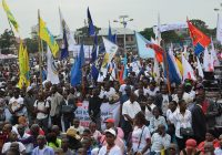 U.S., U.K. SPEAKS AGAINST THE CLAMPDOWN OF A PEACEFUL PROTEST BY DR CONGO