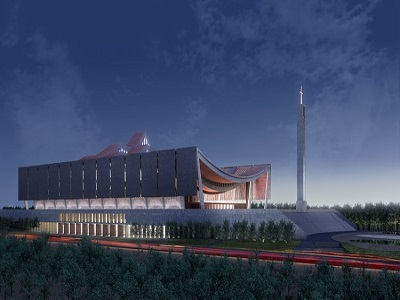 Ghana President Unveil National Cathedral Design
