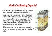 HOW TO IMPROVE BEARING CAPACITY OF A SOIL