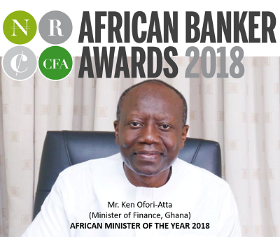 African Finance Minister of the year 2018