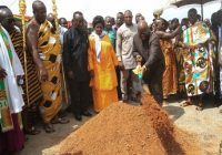 GHANA PRESIDENT PERFORMS GROUNDBREAKING CEREMONY ON AIRPORT CONSTRUCTION