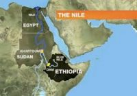 EGYPT' SHARE OF THE NILE WATERS WILL BE GIVING TO THEM SAYS PM OF ETHIOPIA