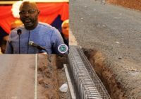 LIBERIA PRESIDENT END ROAD PROJECT INSPECTION TOUR.