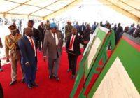 RUMPHI-NYIKA-CHTIPA ROAD CONSTRUCTION LAUNCH IN MALAWI