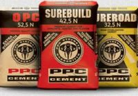 SOUTH AFRICA : PPC CEMENT LUNCHES NEW 'SURE' PRODUCTS.