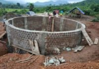 CONSTRUCTION OF WATER DAM NEARING COMPLETION IN SIERRA LEONE