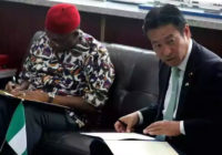 NIGERIA SIGN MoU WITH JAPAN ON INFRASTRUCTURE INVESTMENT