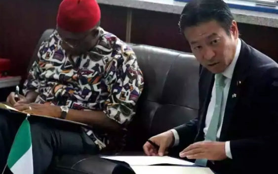 Nigeria - Japan sign Infrastructure Investment MoU