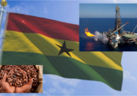 GHANA'S OIL PROCEEDS EXCEED COCOA FOR THE FIRST TIME