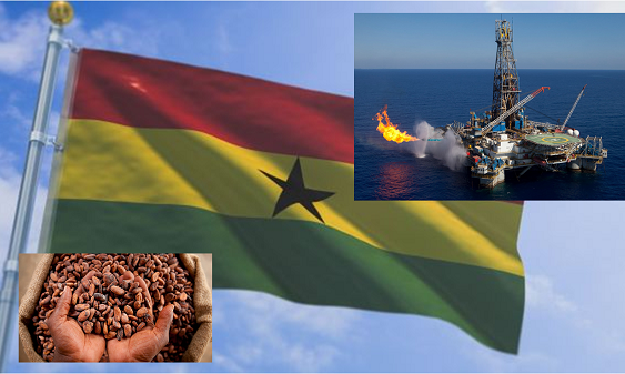 Ghana's oil proceed surpass that of cocoa