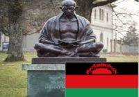MALAWI GOVT STOP MAHATMA GHANDI STATUE CONSTRUCTION
