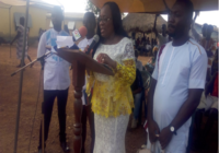 TAIN DISTRICT CHIEF EXECUTIVE UNVEIL BUILDING PROJECT IN GHANA