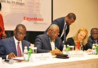 EXXON MOBIL TO BEGIN OIL EXPLORATION IN GHANA