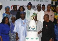 NIGERIAN SOCIETY OF ENGINEERS (NSE) CELEBRATES 60 YEARS OF EXISTENCE IN NIGERIA