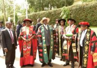 PRESIDENT YOWERI AT GRADUATION CEREMONY IN MAKERERE UNIVERSITY, UGANDA.