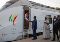 SENEGAL LAUNCHES FIRST EVER ELECTRONIC RAILWAY LINE