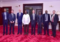 UGANDA PRESIDENT MEETS COMMONWEALTH DELEGATES OVER INFRASTRUCTURAL DEVELOPMENT