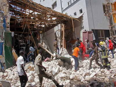 car bomb in Somalia destroys lives and properties