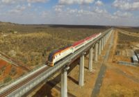 KENYA's STANDARD GAUGE RAILWAY RANKED AMONG RAIL TOURS IN WORLD