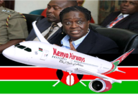 KENYA CONSIDERING FULL OWNERSHIP OF KENYA AIRWAYS