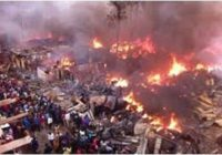 BIGGEST MARKET IN NAIROBI BURN DOWN