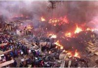 BIGGEST MARKET IN NAIROBI BURN DOWN