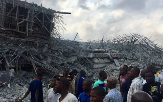 Building Collapse in Lagos Nigeria