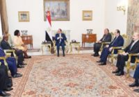 EGYPT TO STRENGTHEN COORDINATION WITH KENYA