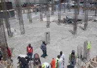 CONSTRUCTION OF KENYA'S NEW GIKOMBA MARKET IN PROGRESS