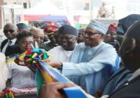 BUHARI INAUGURATES OSHODI INTERCHANGE & OTHER PROJECTS IN LAGOS