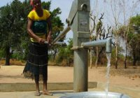 MONROVIA CITY CORPORATION DEDICATES HANDPUMP IN LIBERIA