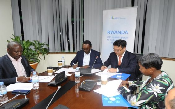 Rwanda agree deal for Chinese firm for job creation