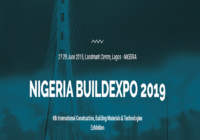 NIGERIA BUILDEXPO 2019 IS AROUND THE CORNER!!!