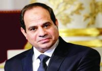 PRESIDENT SISI PLAN EXPANSION OF ENERGY SECTOR