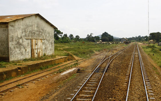 Old railway in uganda