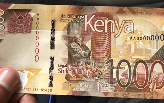 Kenya new currencies