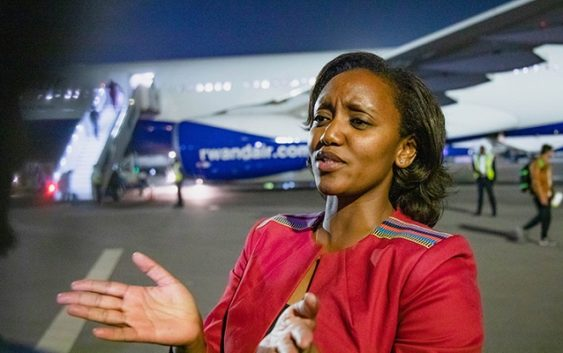 RwandAir opens route to china